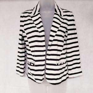 Express Striped Blazer Jacket